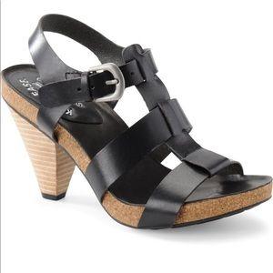 KORK EASE | Elinor Black Gladiator Heel Sandals 8